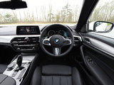 Images of BMW 520d xDrive Sedan M Sport UK-spec (G30) 2017