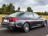 Images of BMW 540i Sedan M Sport AU-spec (G30) 2017
