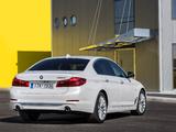 Images of BMW 520d Sedan Luxury Line (G30) 2017