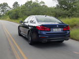 Images of BMW 540i Sedan M Sport Latam (G30) 2017