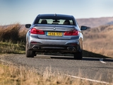 Images of BMW 520d Sedan M Sport UK-spec (G30) 2017