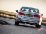 Images of BMW 520d SE Sedan UK-spec (G30) 2017