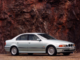 Images of BMW 540i Sedan UK-spec (E39) 1996–2000