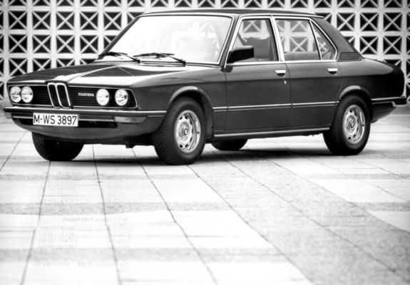 of BMW 528i Sedan US-spec (E12) 1978-81