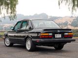 Photos of BMW M5 US-spec (E28) 1986–87