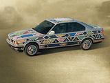 Photos of BMW 525i Art Car by Esther Mahlangu (E34) 1992