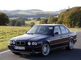 Photos of BMW M5 Sedan (E34) 1994–95