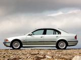 Photos of BMW 540i Sedan UK-spec (E39) 1996–2000