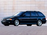 Photos of BMW 540i Touring (E39) 1997–2000