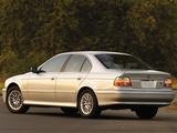 Photos of BMW 530i Sedan US-spec (E39) 2000–03