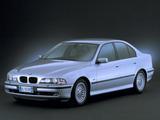 Photos of BMW 520d Sedan (E39) 2000–03