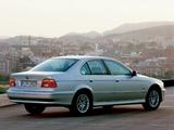 Photos of BMW 520i Sedan (E39) 2000–03