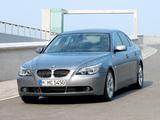 Photos of BMW 545i Sedan (E60) 2003–05