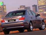 Photos of BMW 545i Sedan ZA-spec (E60) 2003–05