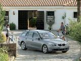 Photos of BMW 530d Touring (E61) 2004–07