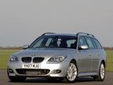 Photos of BMW 535d Touring M Sports Package UK-spec (E61) 2005