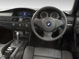 Photos of BMW 530i Touring M Sports Package AU-spec (E61) 2005