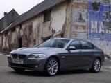 Photos of BMW 535i Sedan UK-spec (F10) 2010