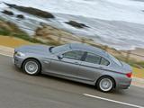 Photos of BMW 535i Sedan (F10) 2010–13
