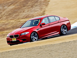 Photos of BMW M5 US-spec (F10) 2011