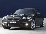 Photos of BMW 520d Touring M Sports Package AU-spec (F11) 2011