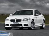 Photos of BMW 535d Sedan M Sports Package AU-spec (F10) 2011