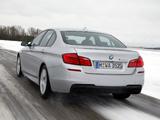 Photos of BMW M550d xDrive Sedan (F10) 2012