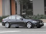 Photos of BMW 550i Sedan M Sport Package AU-spec (F10) 2013