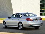 Photos of BMW 518d Sedan (F10) 2013