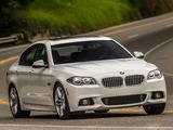 Photos of BMW 535d Sedan M Sport Package US-spec (F10) 2013