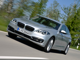 Photos of BMW 530d Sedan Luxury Line (F10) 2013