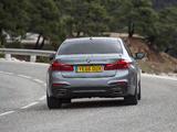 Photos of BMW 520d Sedan M Sport UK-spec (G30) 2017