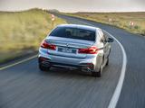 Photos of BMW 540i Sedan M Sport ZA-spec (G30) 2017