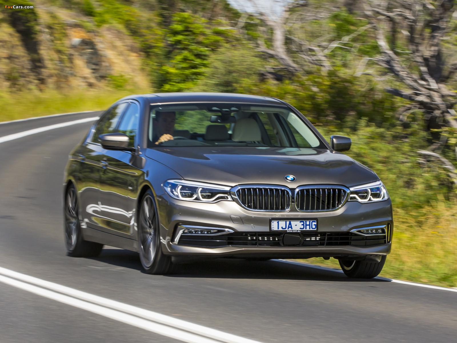 Photos of BMW 530d Sedan Luxury Line AU-spec (G30) 2017 (1600 x 1200)