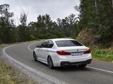 Photos of BMW 520d Sedan M Sport ZA-spec (G30) 2017
