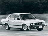 Photos of BMW 5 Series Sedan US-spec (E28) 1982–88