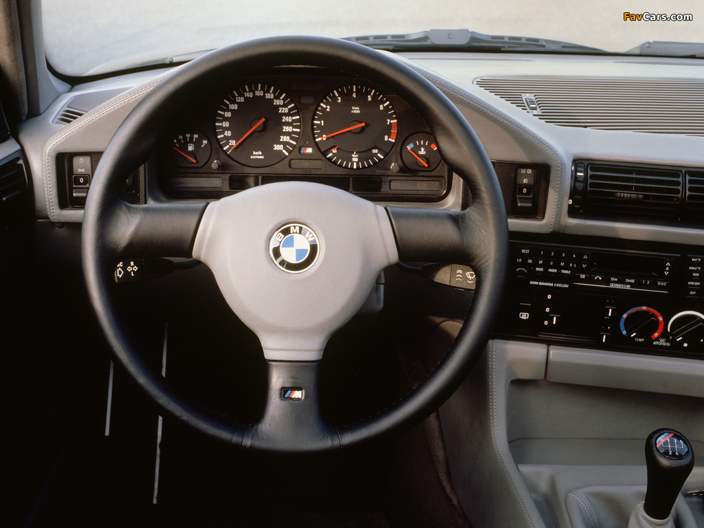 Photos of BMW M5 (E34) 1988–92 (1024 x 768)