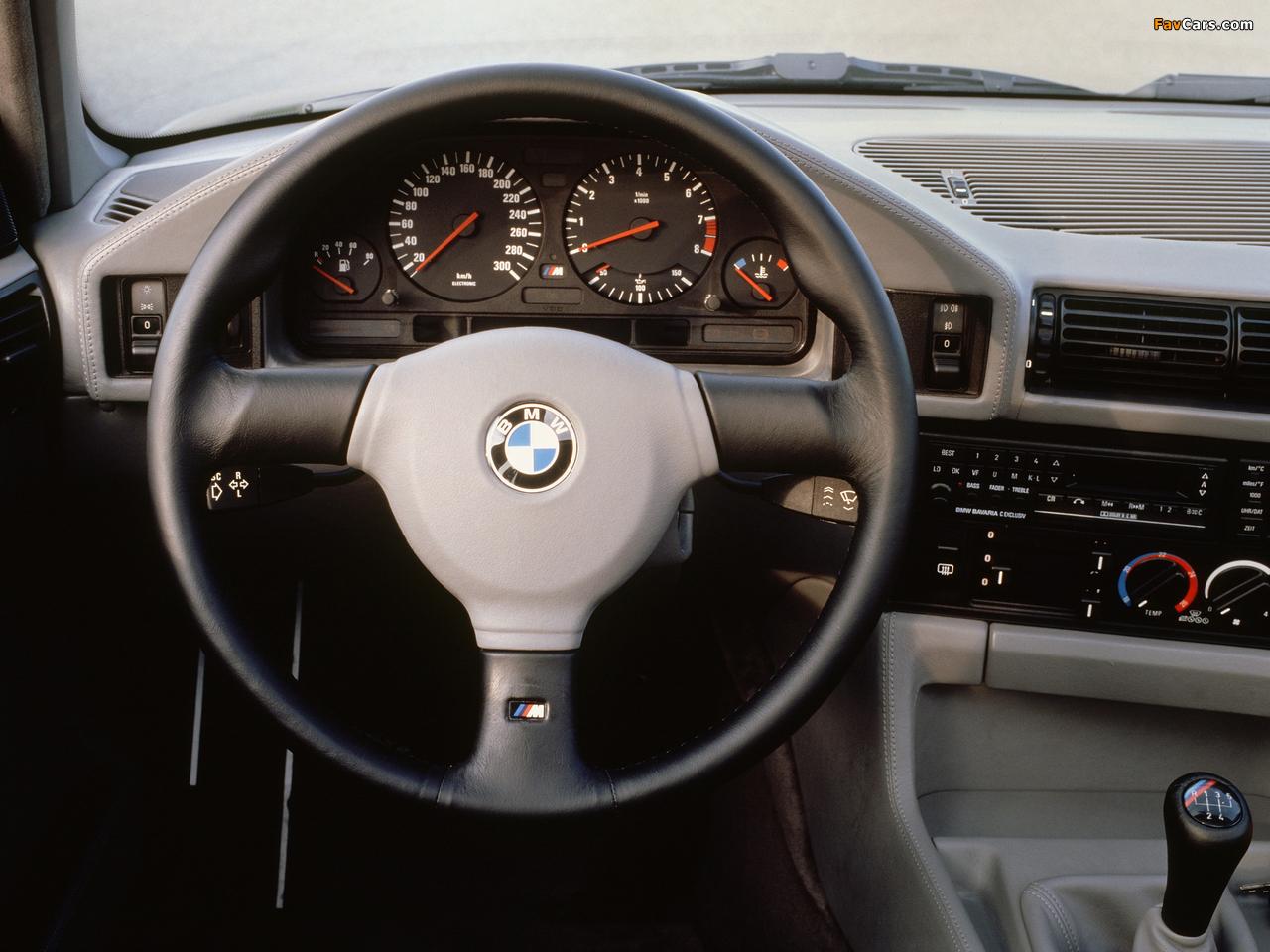 Photos of BMW M5 (E34) 1988–92 (1280 x 960)