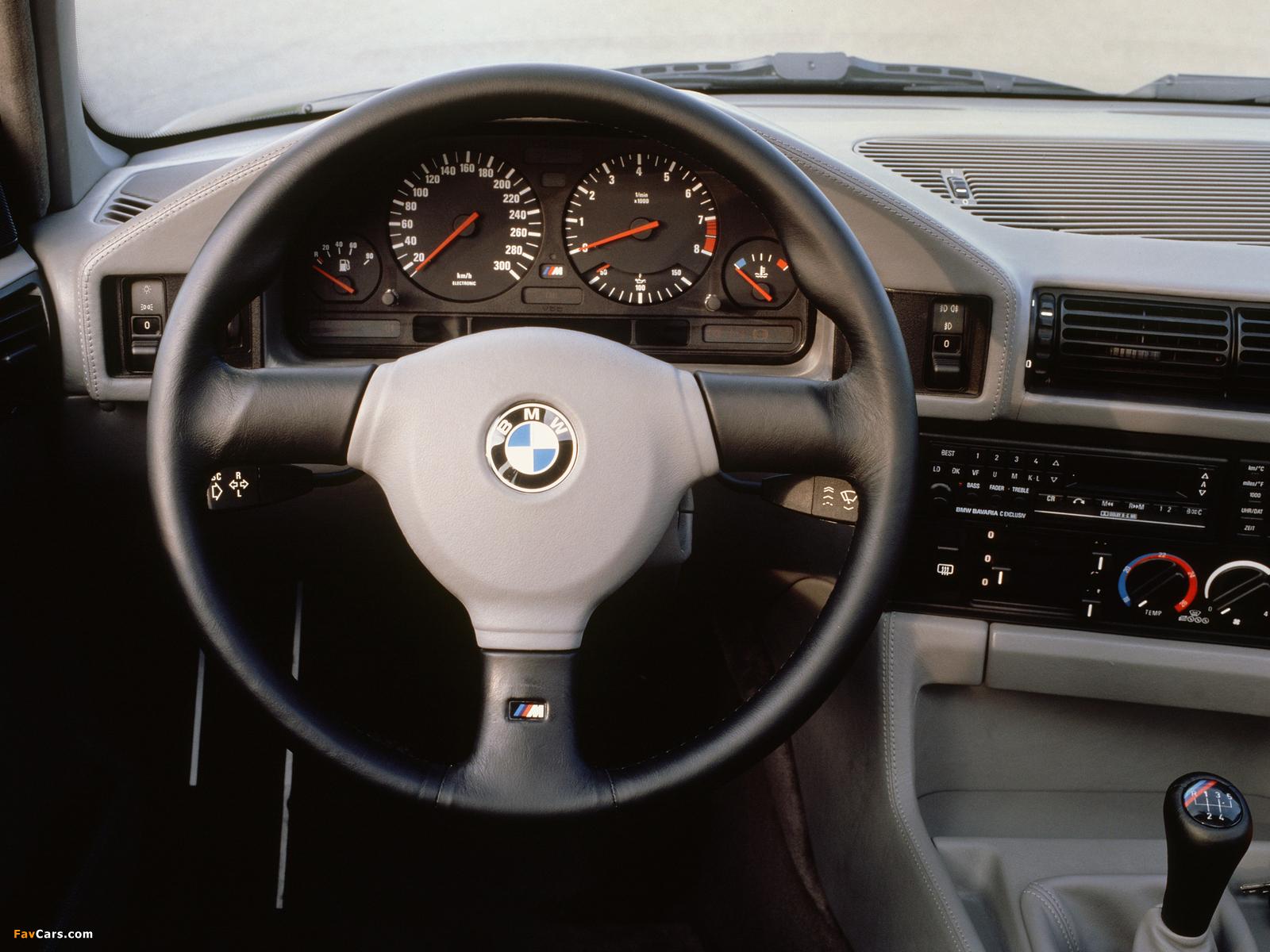 Photos of BMW M5 (E34) 1988–92 (1600 x 1200)