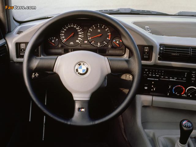 Photos of BMW M5 (E34) 1988–92 (640 x 480)