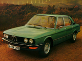 Pictures of BMW 520 Sedan (E12) 1972–75