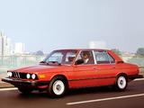 Pictures of BMW 528i Sedan US-spec (E12) 1978–81