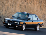 Pictures of BMW M5 US-spec (E28) 1986–87