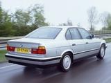 Pictures of BMW 520i Sedan (E34) 1987–95