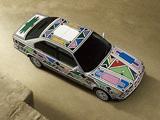 Pictures of BMW 525i Art Car by Esther Mahlangu (E34) 1992