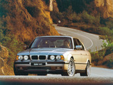 Pictures of BMW M5 Sedan (E34) 1994–95