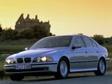 Pictures of BMW 540i Sedan (E39) 1996–2000