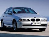 Pictures of BMW 520i Sedan (E39) 2000–03