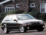 Pictures of BMW 540i Touring US-spec (E39) 2000–04