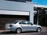 Pictures of BMW 525i Sedan (E60) 2003–07